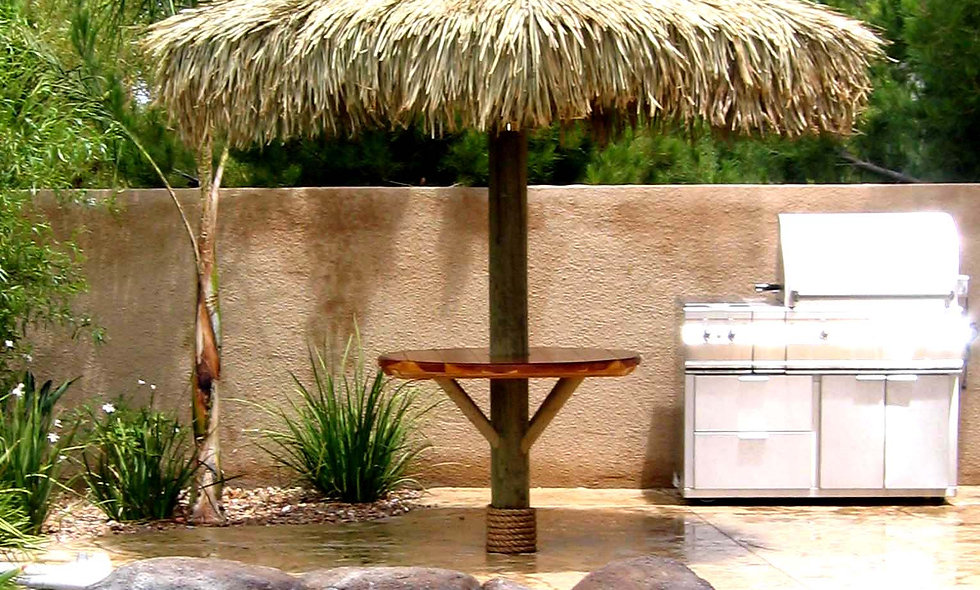 7' BAJA THATCH UMBRELLA