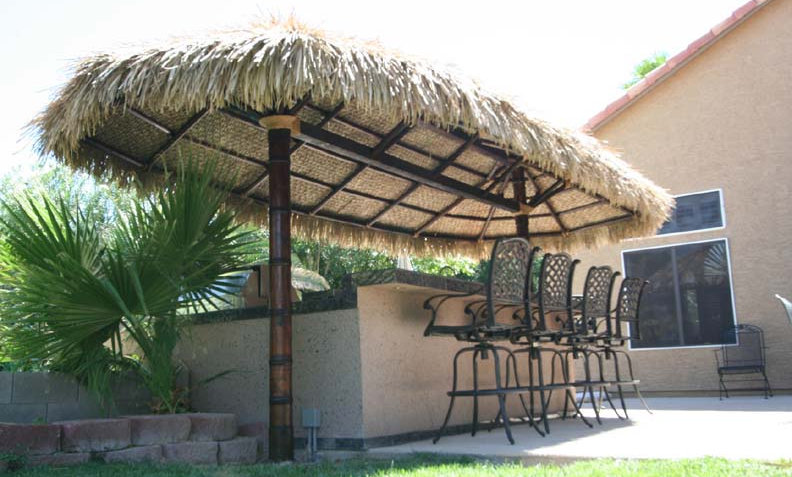12'X24' BAJA OVAL CANCUN HUT-2 POLE