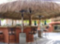 18 Ft hand woven Baja thatch Palapa