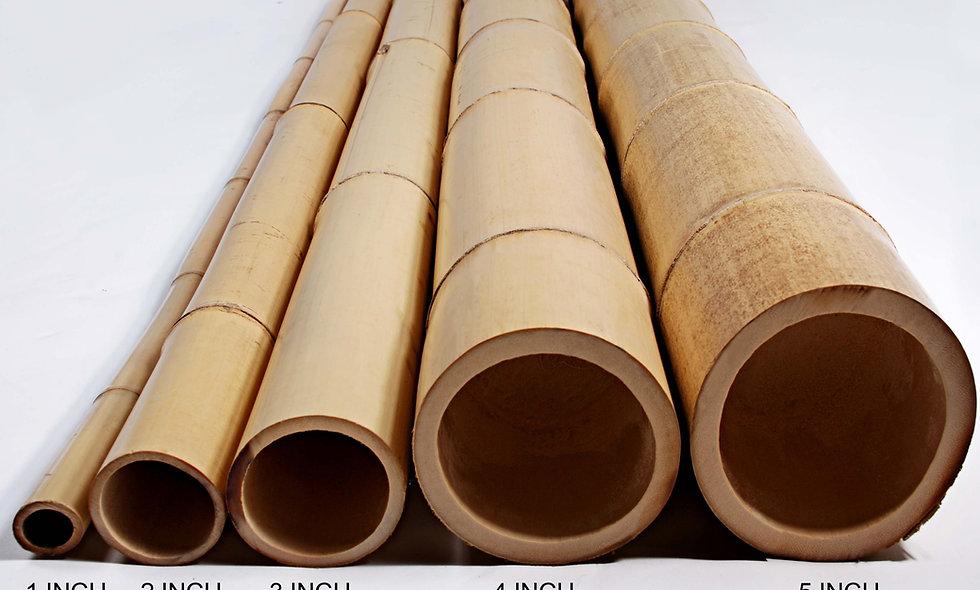 2″ x 10′ BAMBOO POLES NATURAL (10 Poles)
