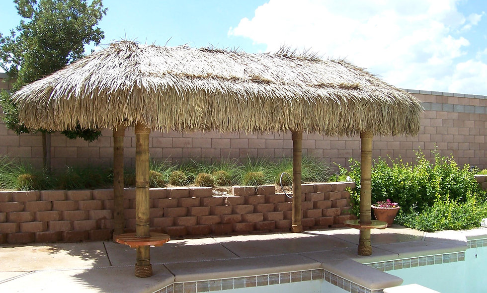 9'x18' BAJA OVAL CANCUN HUT-4 POLE