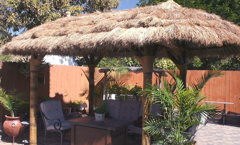8'x16' TO 12'X24' FIJI OVAL CANCUN HUT-4 POLE