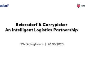 Beiersdorf und Carrypicker stellen gemeinsames Projekt vor