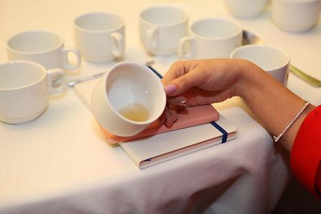 Cata de té Escuela de los Sentidos