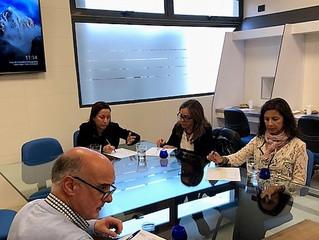 1a Evaluación Sensorial de Aceite de Oliva       2018, celebrado en IIVO, Marchigüe