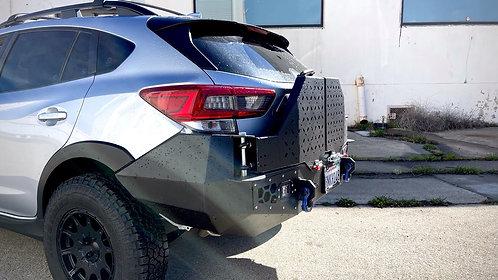 18+Crosstrek Guardian Rear Bumper with Dual swing out tire Carrier