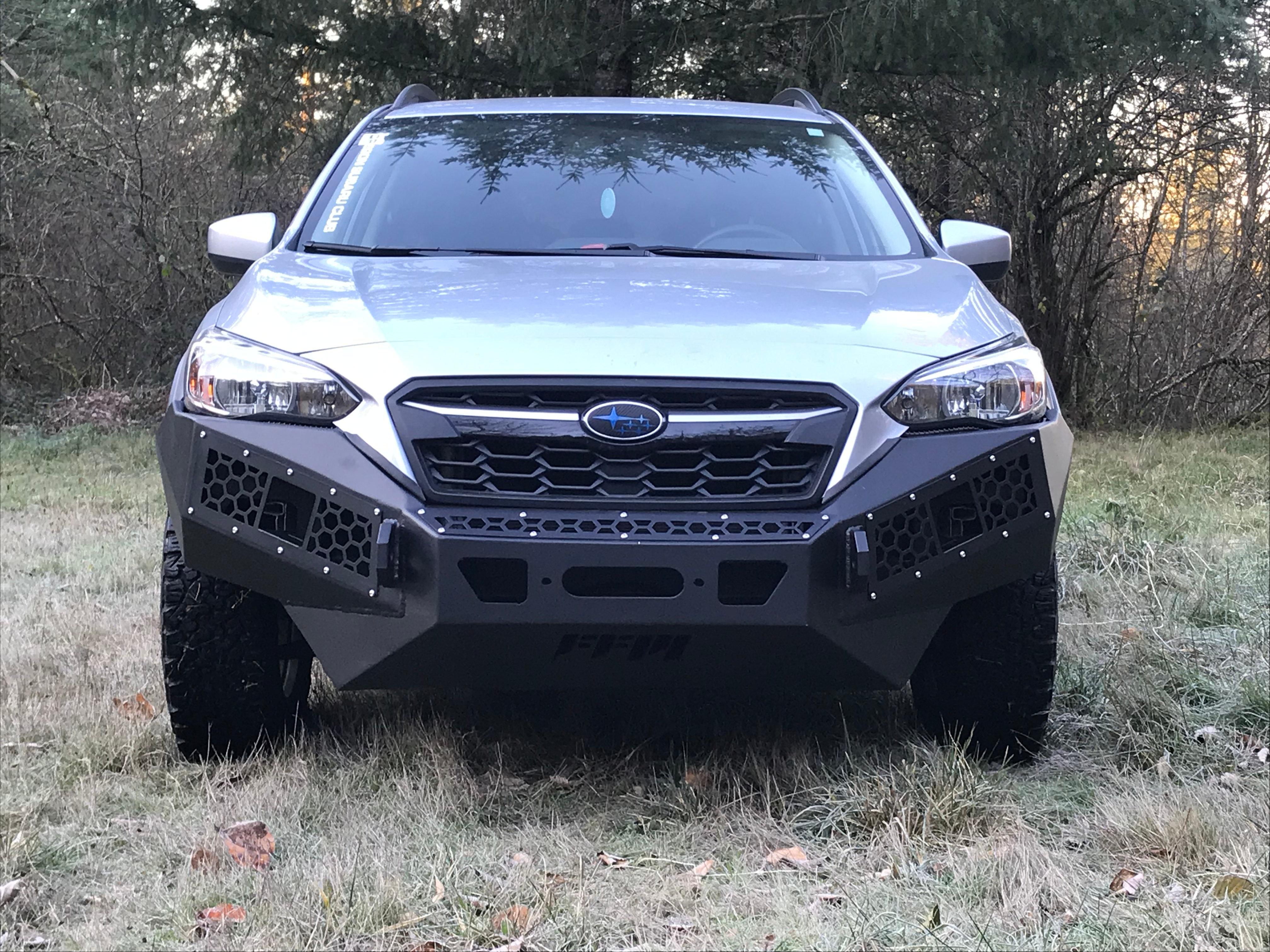 18 Crosstrek Defender Series Front Bumper