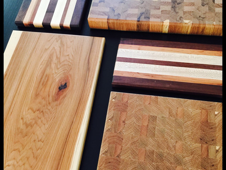 Cutting Boards and Butcher Blocks.