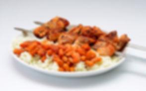 פרגית עם אורז ושעועית - שווארמה הרצל 2