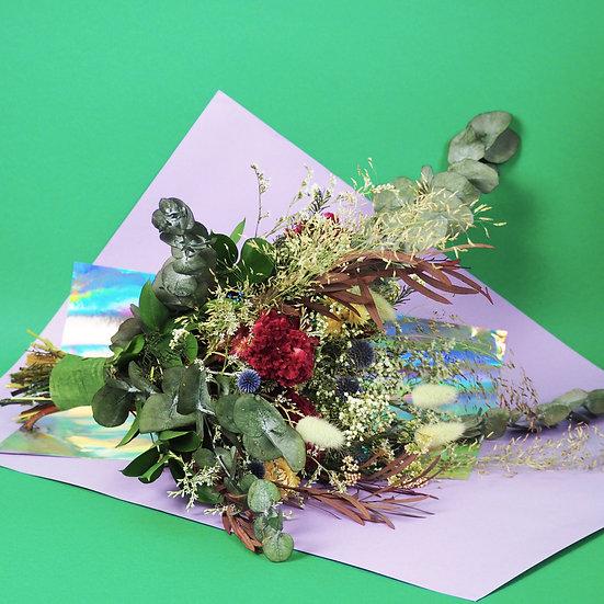 MARIAGE - bouquet et accessoires fleurs séchées françaises