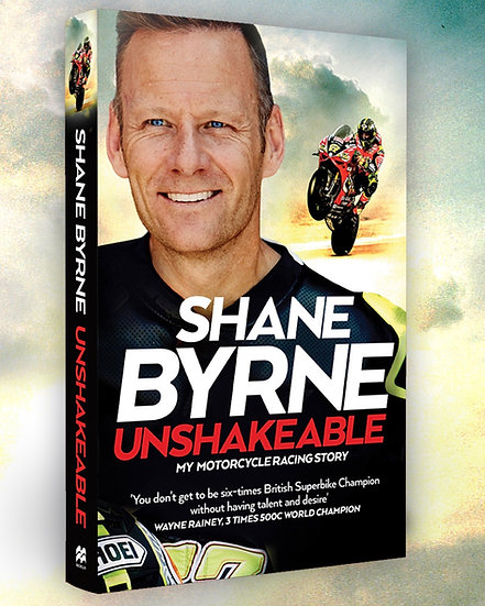 Unshakeable... Personalised and signed!!!!!!!!