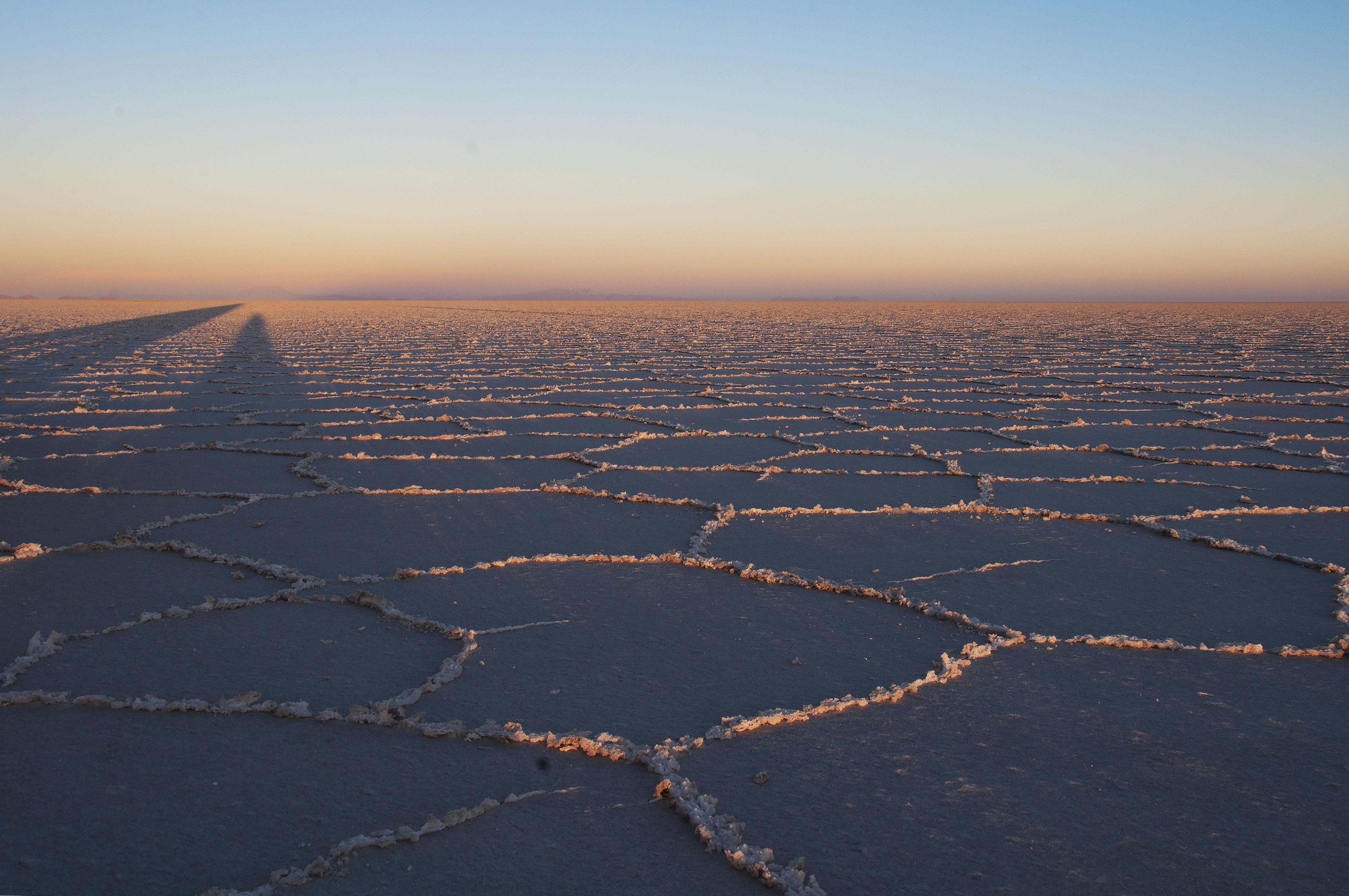 Endless Salt Flats