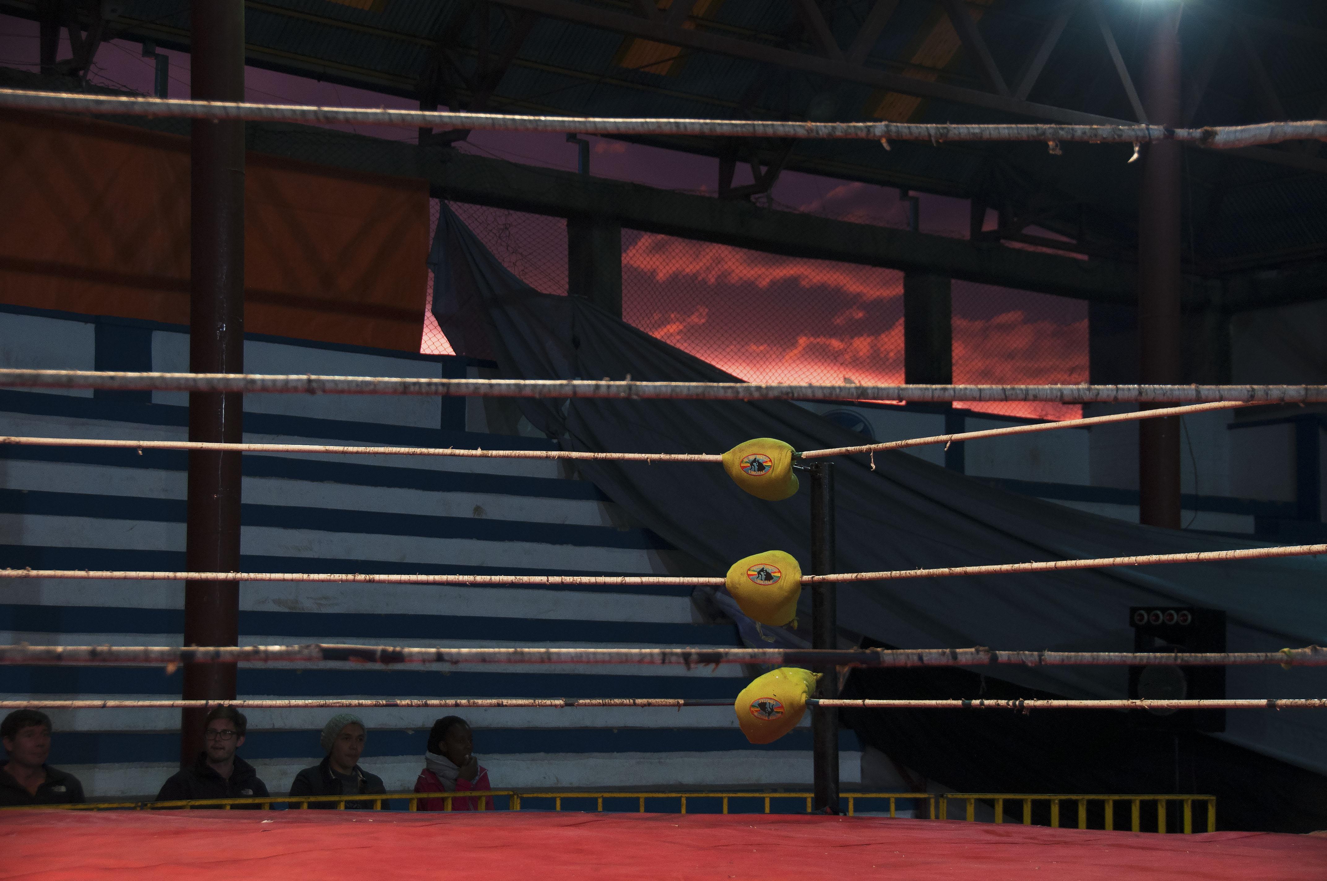 Cholitas Wrestling, La Paz