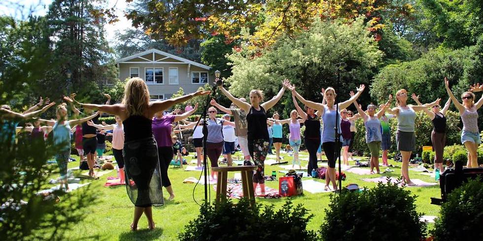 Summer Solstice Chakra Yoga Mala (108 Sun Salutations!)