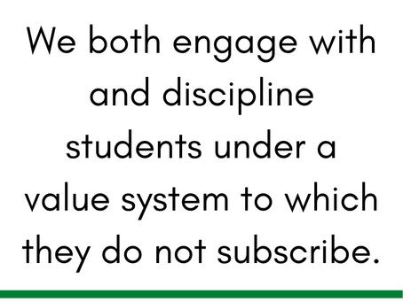How School Leaders Reinforce Supremacy through Discipline & Behavior Expectations