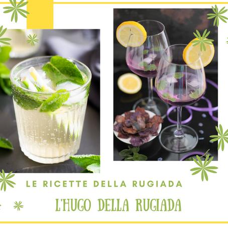 I cocktail della Rugiada: Hugo in 2 versioni con chips di patata viola