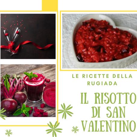 La ricetta: il risotto di San Valentino