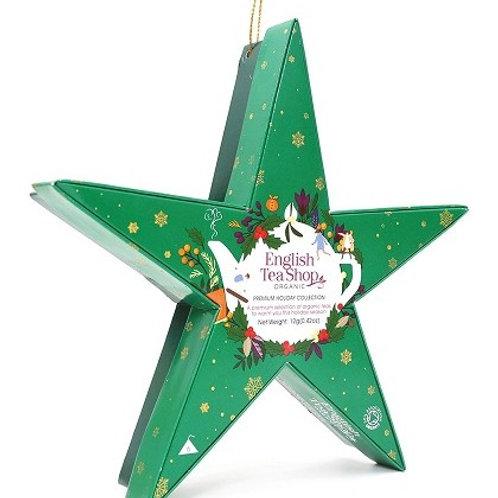 Stella di Natale con filtri verde