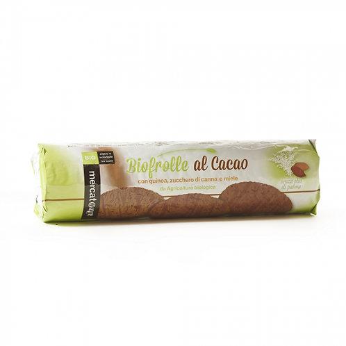 Biscotti Biofrolle al cacao