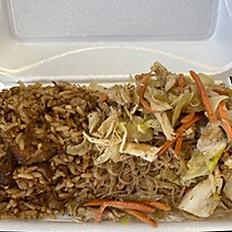 #16 Pork Adobo Fried Rice and Pancit