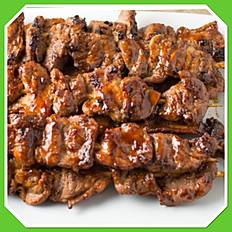 Pork Skewers/3 for $5.50/6 for $8.75/12 for $15.00