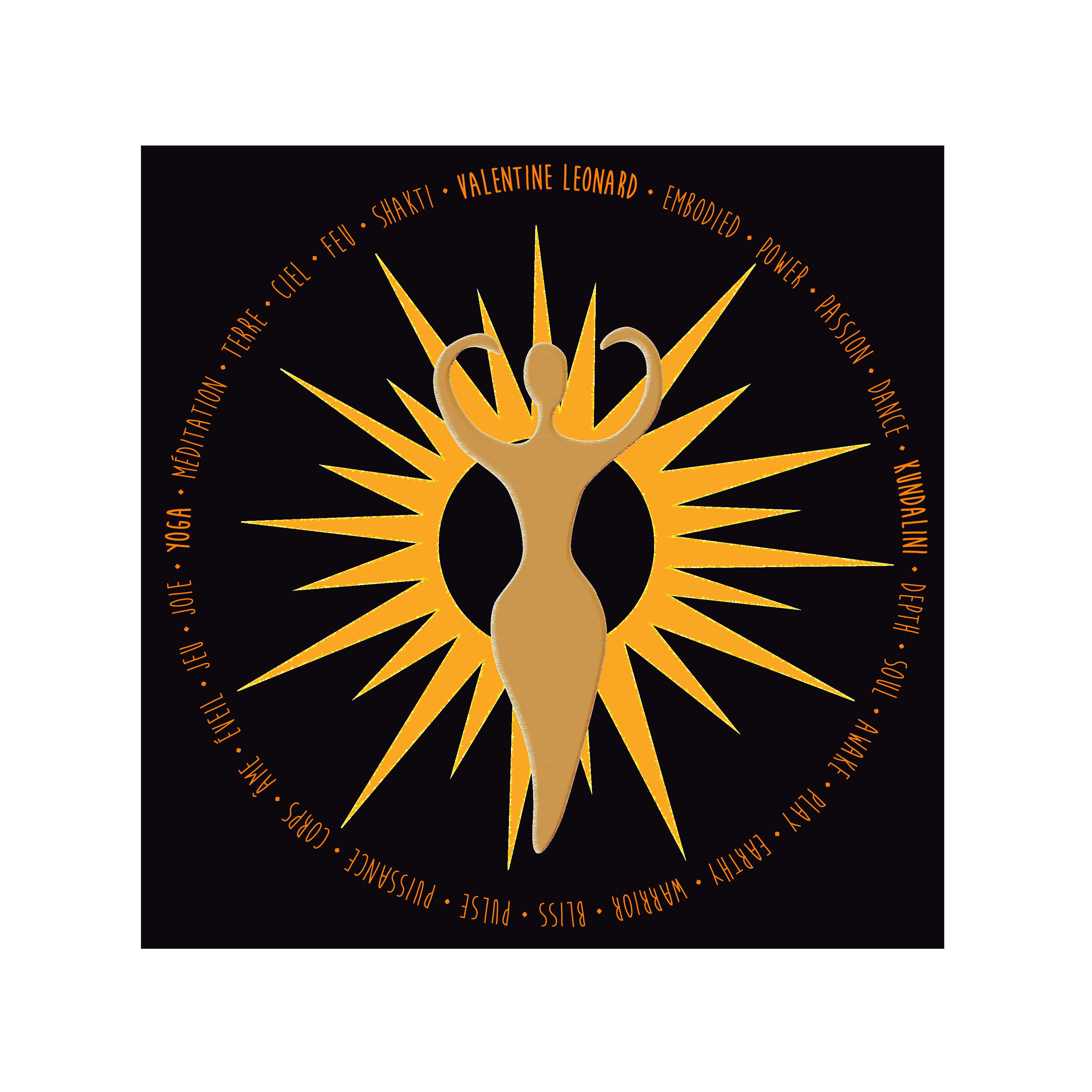 Logo Valentine · Yoga & Coaching