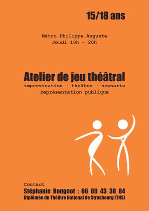 Flyer théâtre