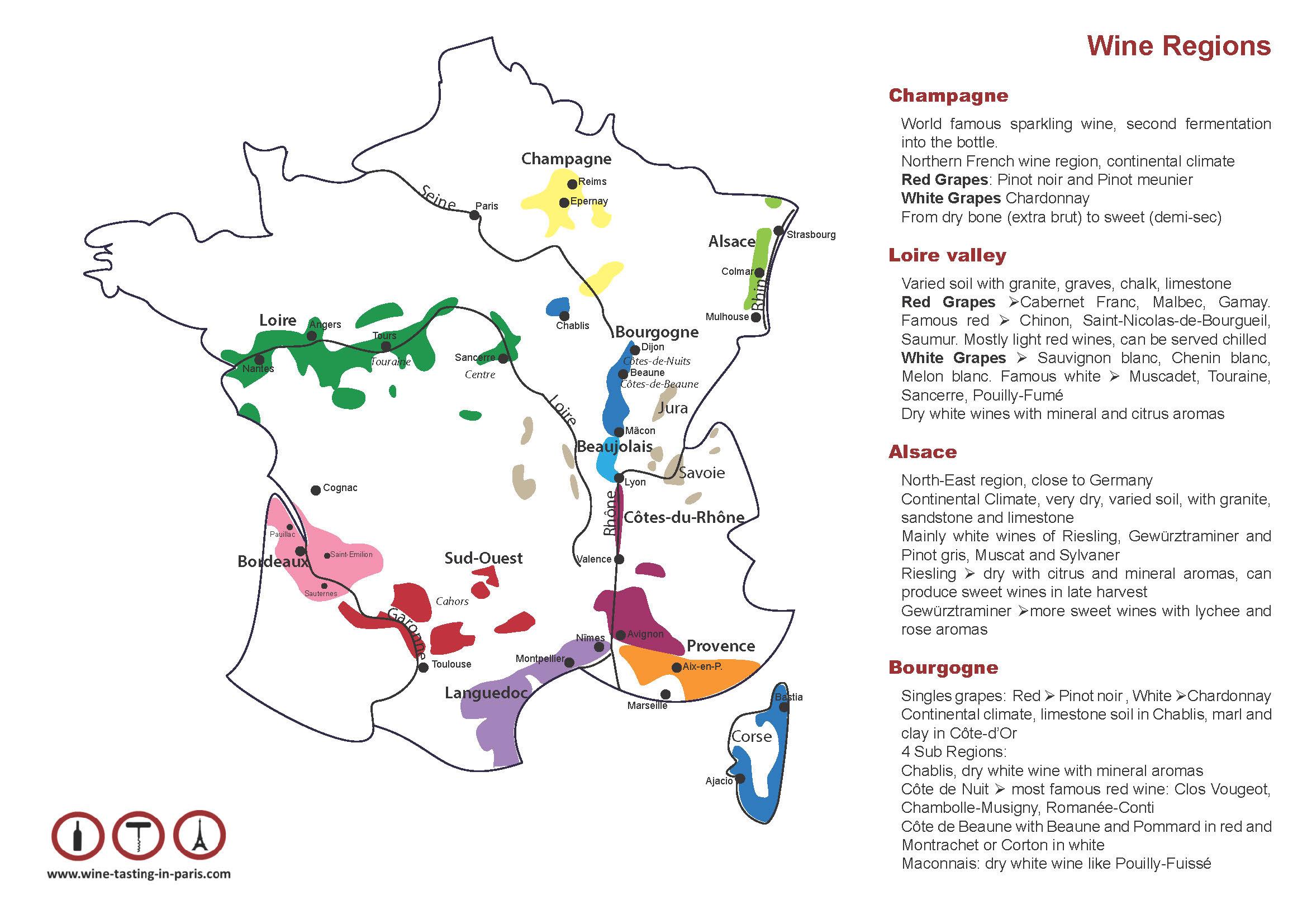 Création flyer et carte de France