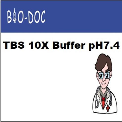 TBS 10X Buffer pH7.4