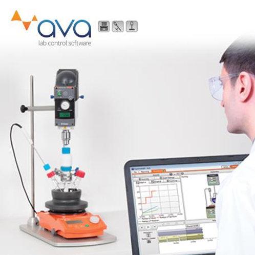 反應實驗控制軟体 AVA