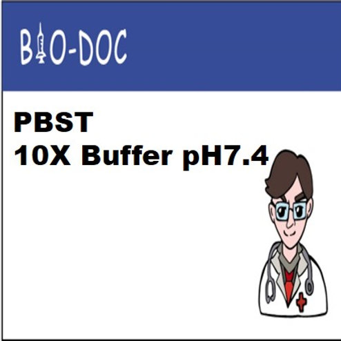 PBST 10X Buffer pH7.4