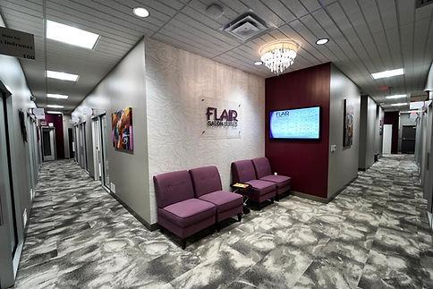Flair Salon Suites Tenant Build Out by LMG Construction Services