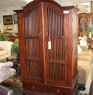 Barred Armoire