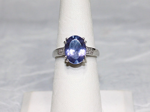14kt White Gold Tanzanite