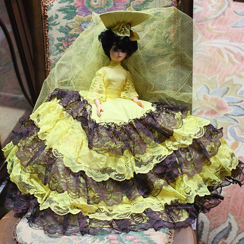 Vintage Doll Yellow