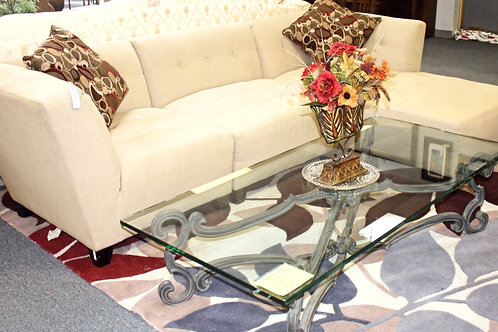 Belari Linen Sofa