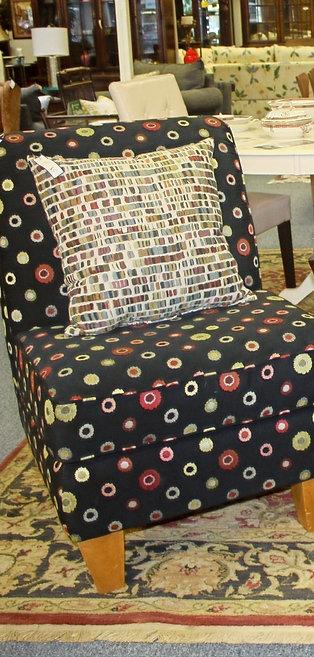 Sonoma Black Accent Chair