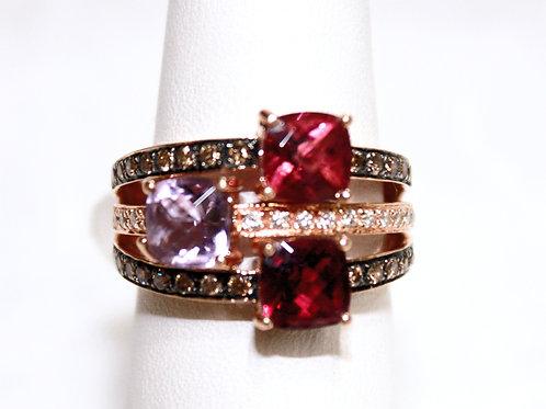 14K Birthstone Ring