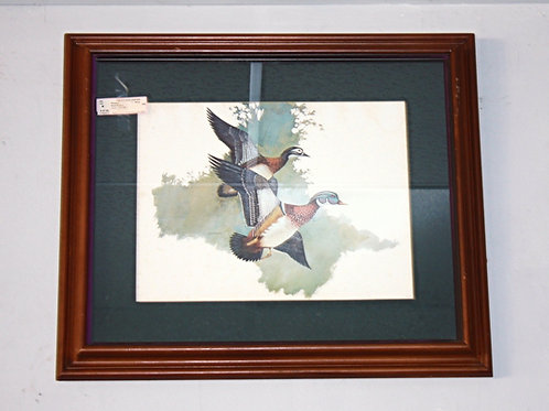 Duck Impressionist Print