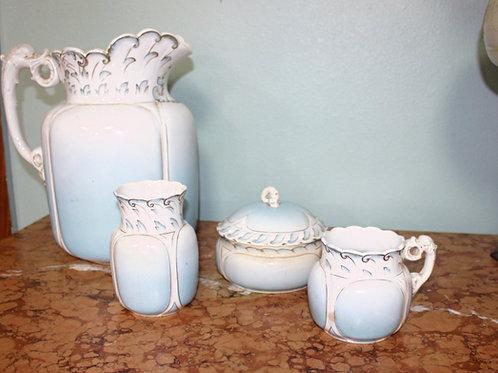 Porcelain Pitcher & Bowl