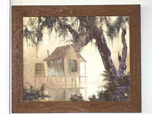 Margaret Deloo Swamp Painting