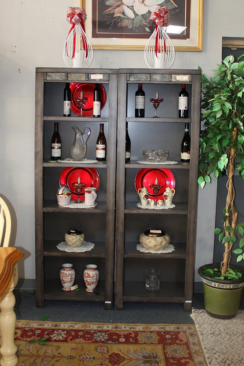 Gray Shelving Unit