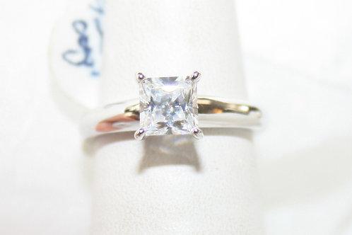 1ct Crystal Ring