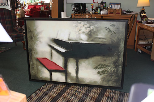 """42"""" x 63"""" Piano Painting"""