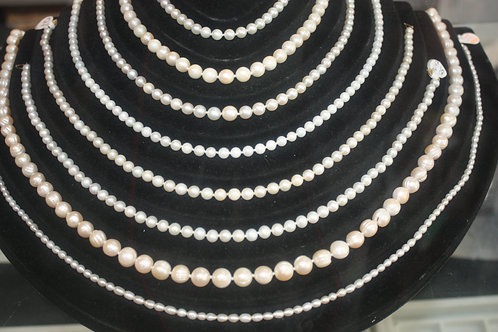 Pearls (starting at $125.00 & up/each)
