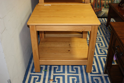 Pine Lamp Tables Set of 2