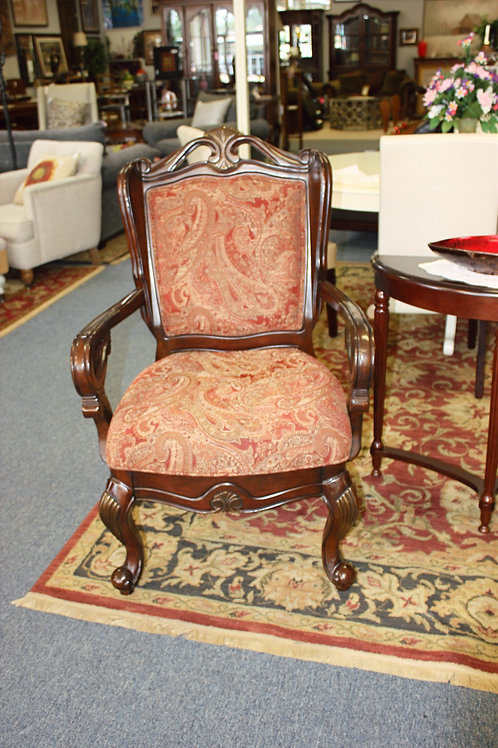 Traditional High Back Chair