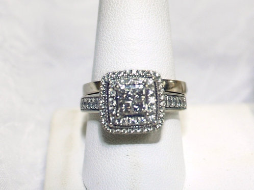 14kt White Gold 2ct Diamond