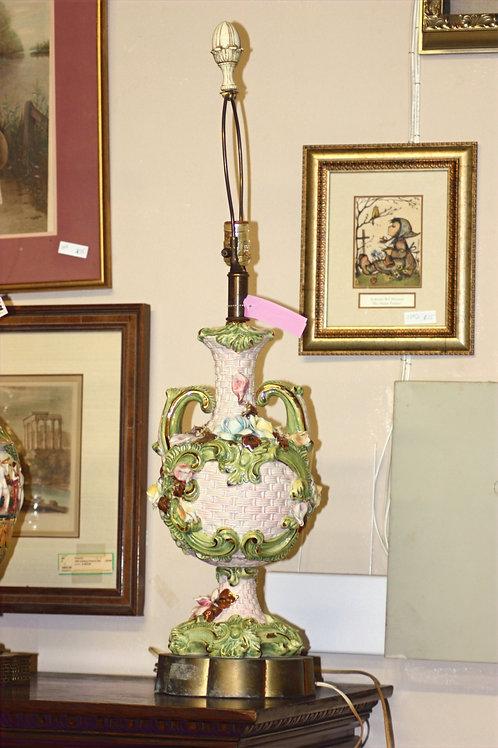 Antique Rose Lamp