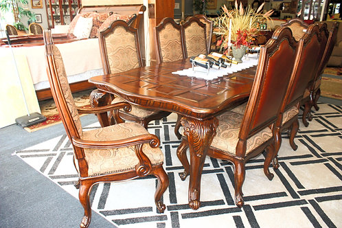 Kitchen Table & 10 Chairs